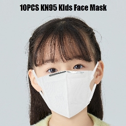 10PCS KN95 Kids Face Mask